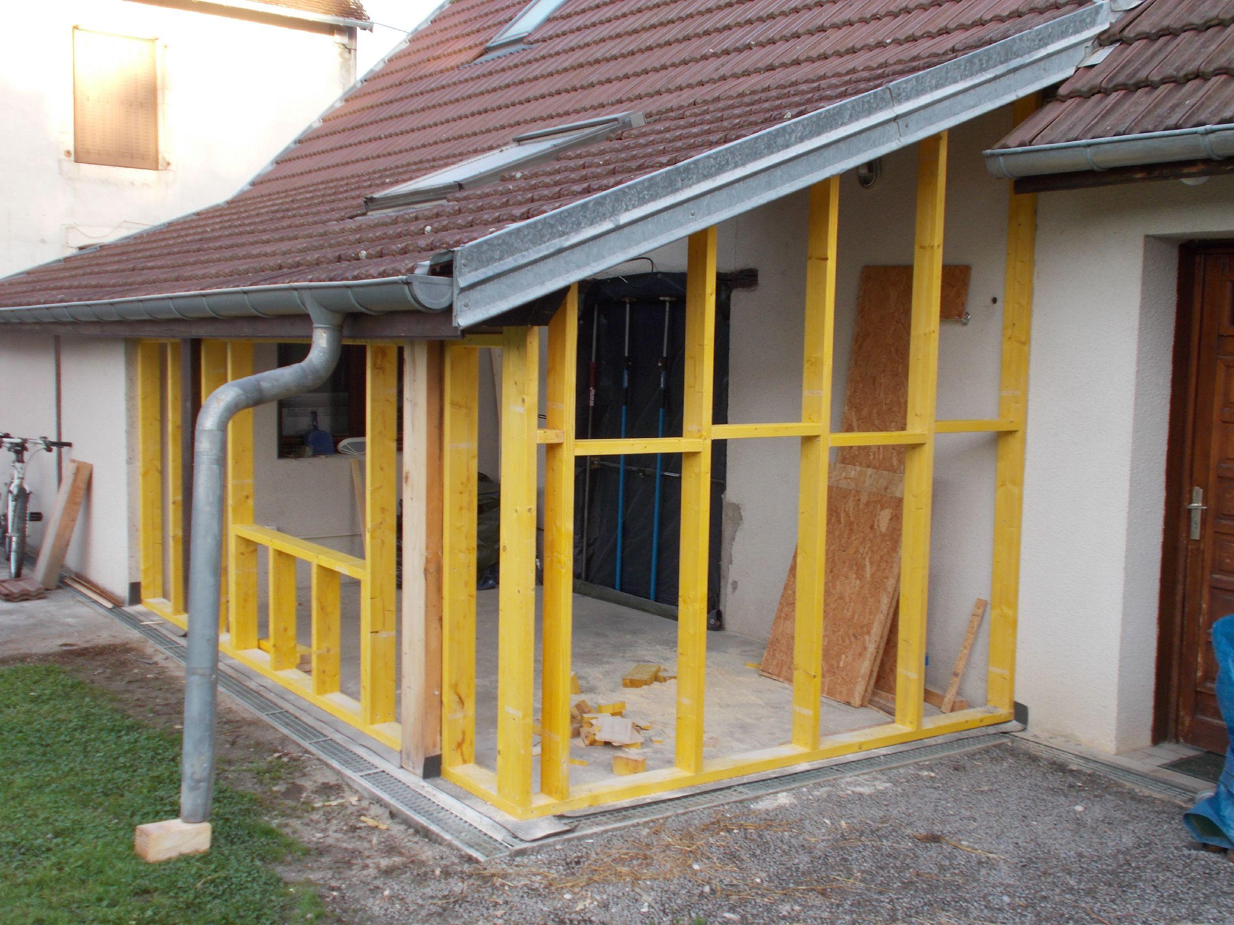 MAISON - Rénovation - Ossature