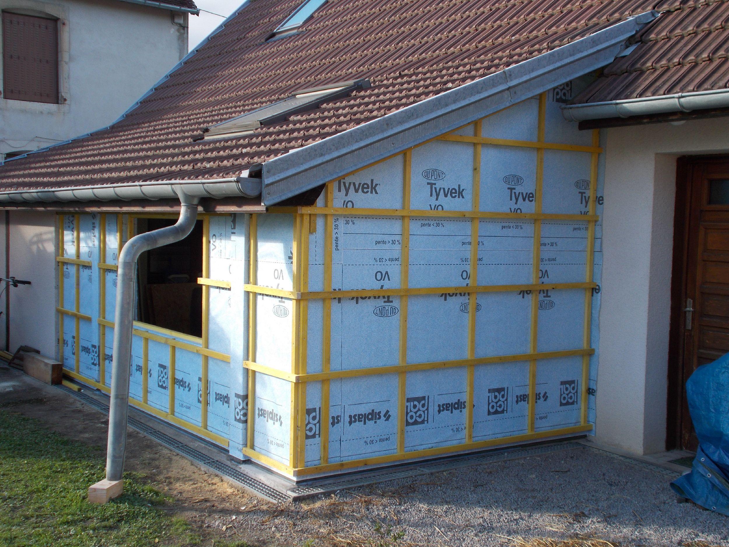MAISON - Rénovation - Préparation bardage