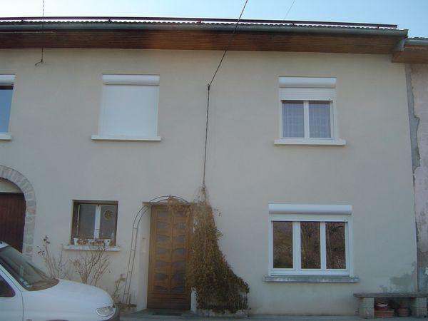 Rénovation maison - Fenêtre PVC + Volet roulant lames aluminium