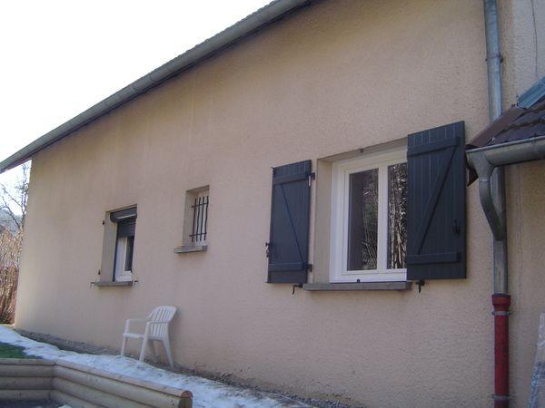Rénovation Fenêtre PVC + Volets Battants Alu isolés