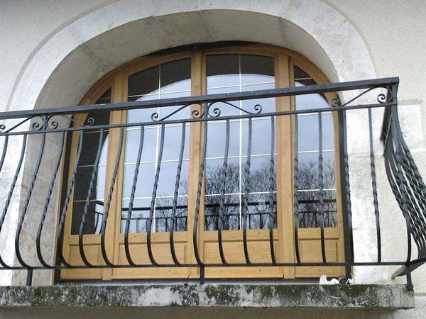 Porte-Fenêtre en chêne, dépose totale