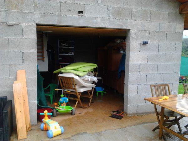 Porte de garage PVC - AVANT
