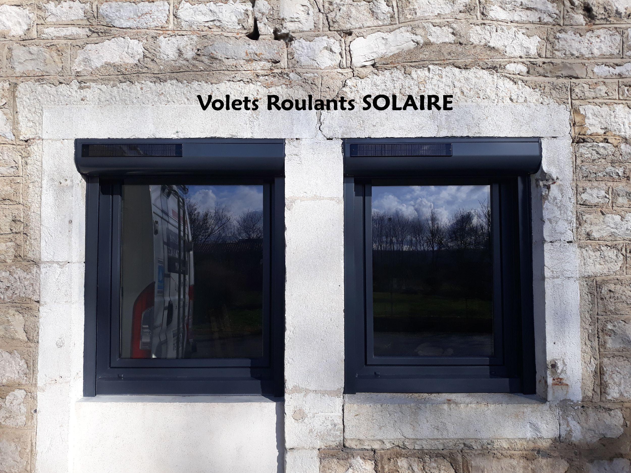 RÉNOVATION - Volets roulants SOLAIRE