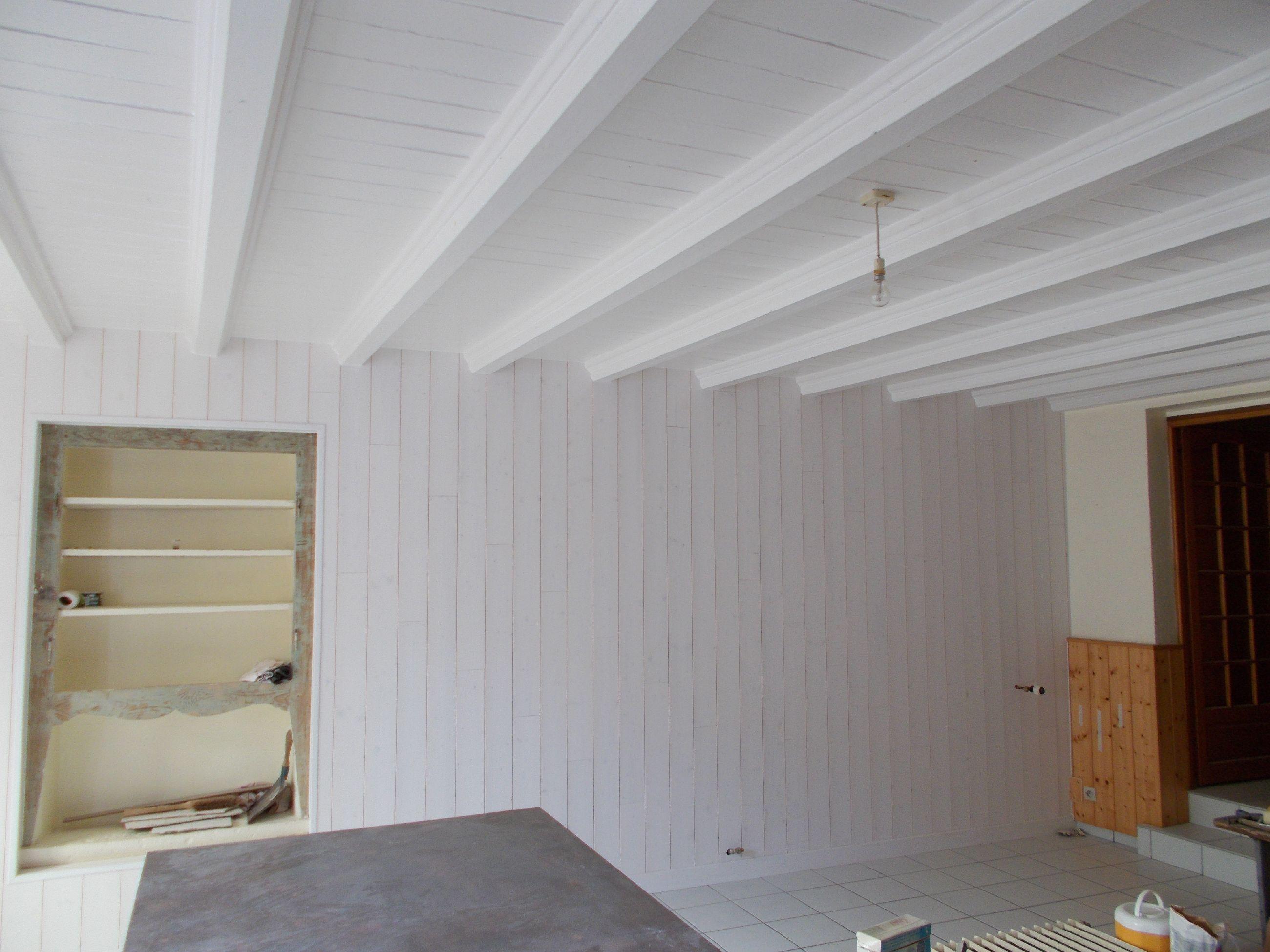 Lambris blanc - APRES