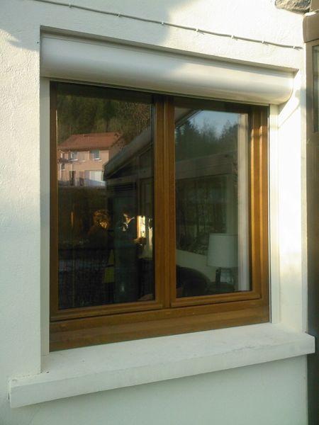 Fenêtre PVC + Volet Roulant motorisé