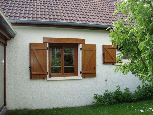 Fenêtre PVC + Volets Battants PVC