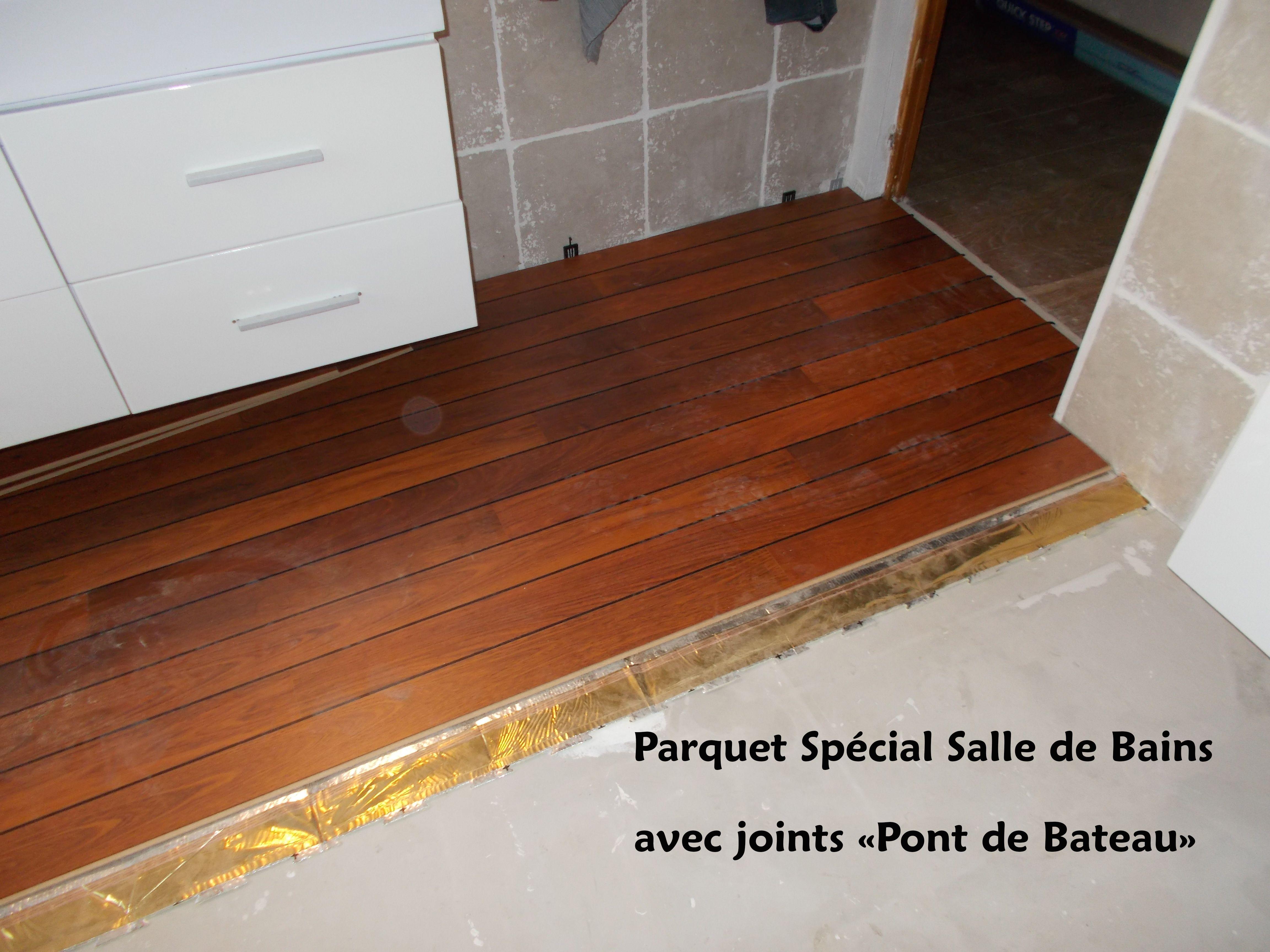 Parquet Salle de bains - Rénovation